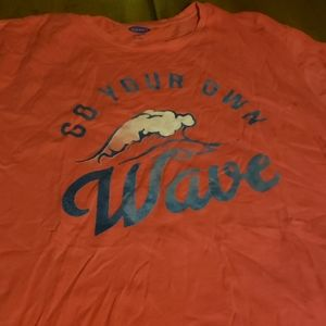 New Go your own wave T-shirt 2X